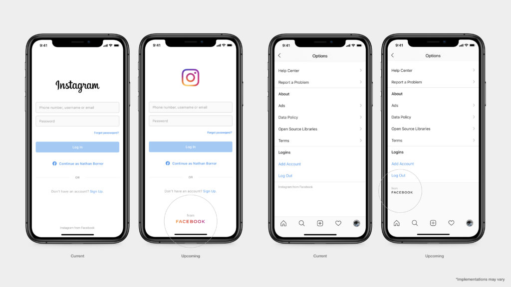 screenshot instagram neues logo